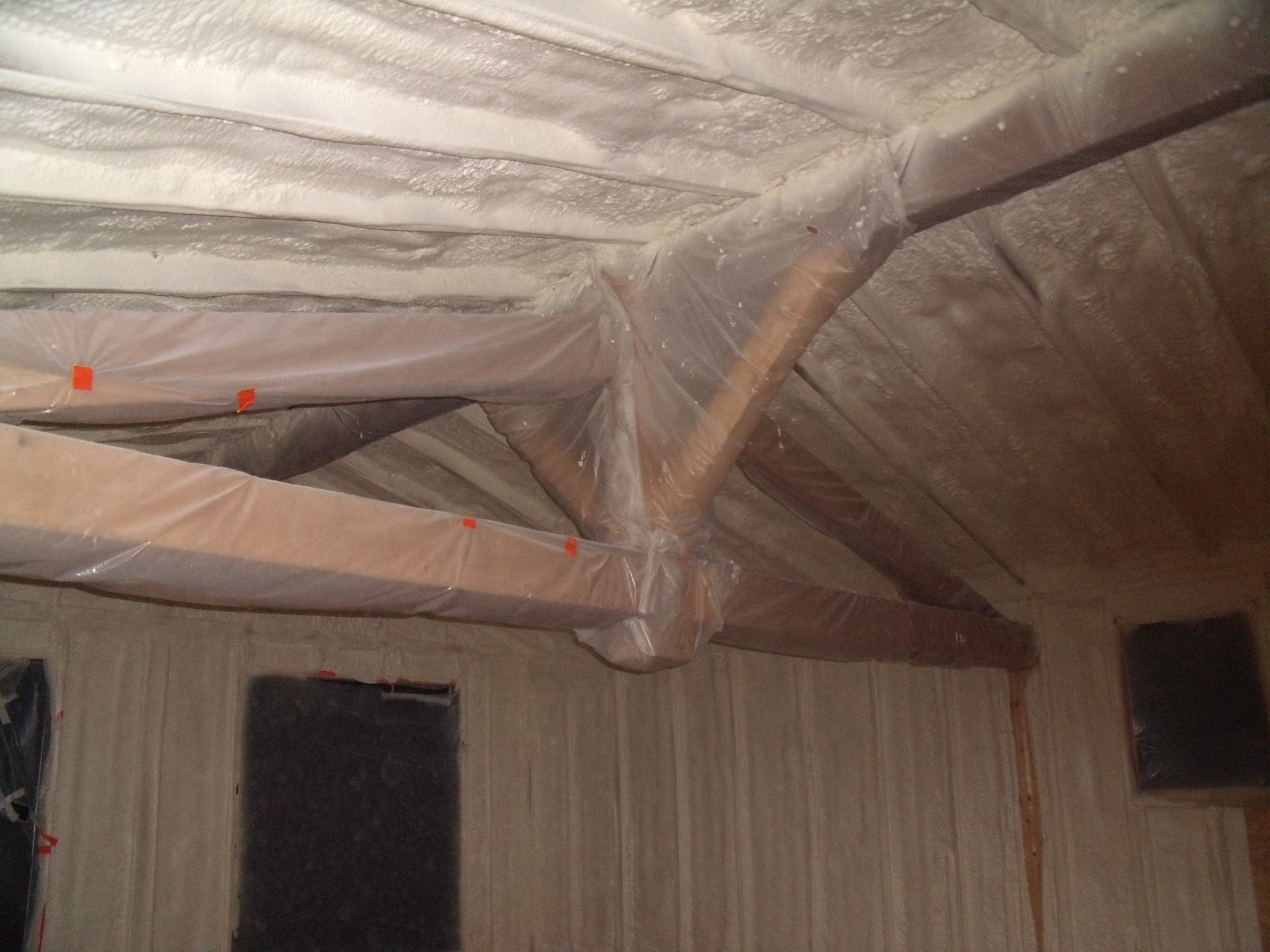 isolation des toitures par mousse polyur thane cf isolation. Black Bedroom Furniture Sets. Home Design Ideas