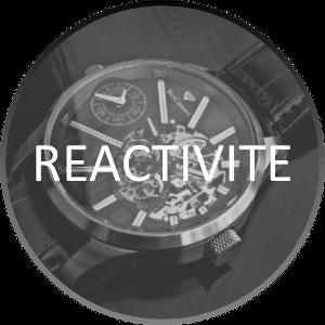 Valeur Réactivité